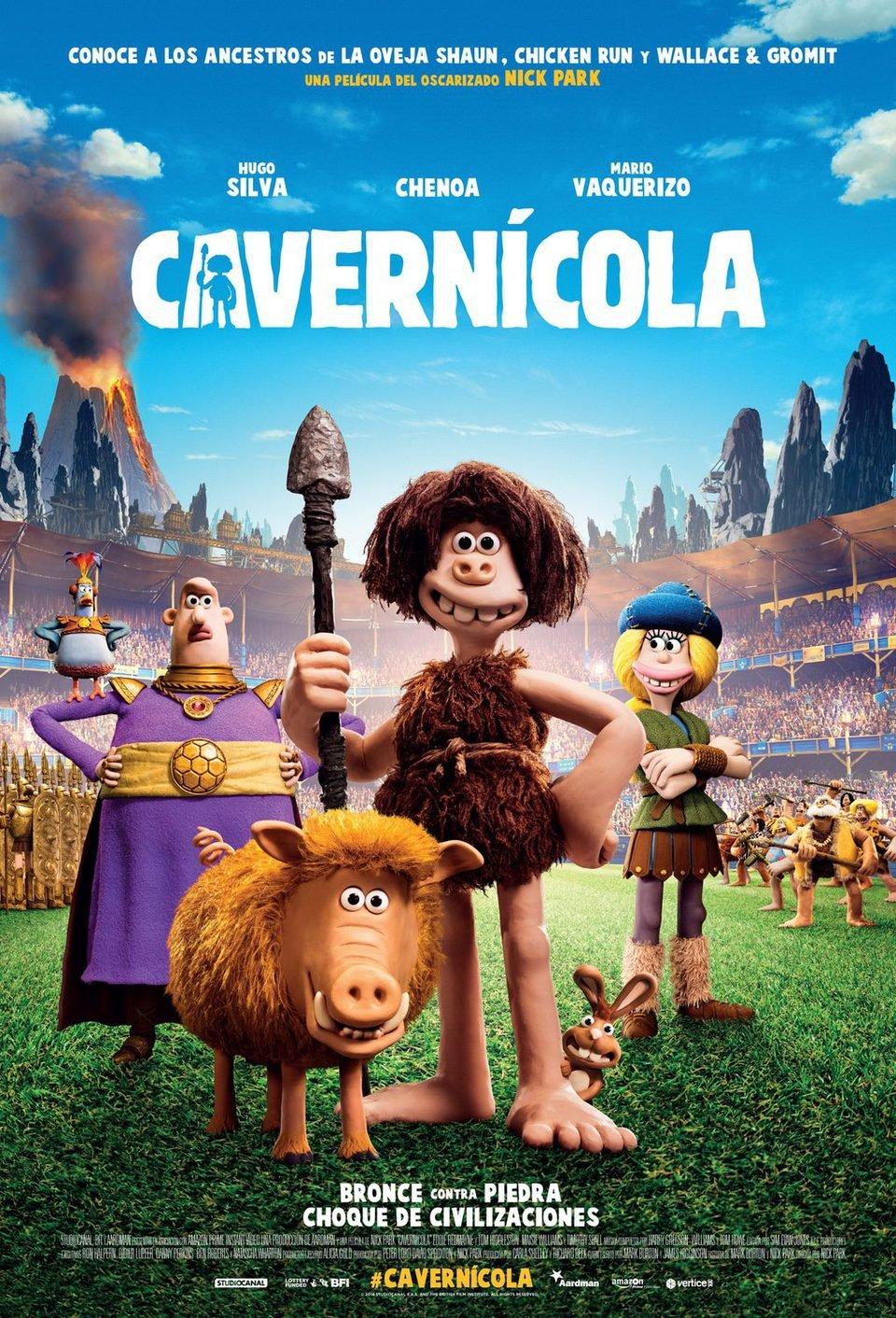Cartel Póster final español de 'Cavernícola'