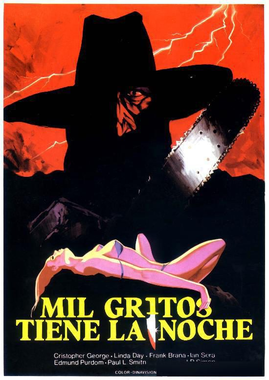Cartel España de 'Mil gritos tiene la noche'