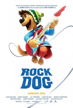 Cartel de Rock Dog
