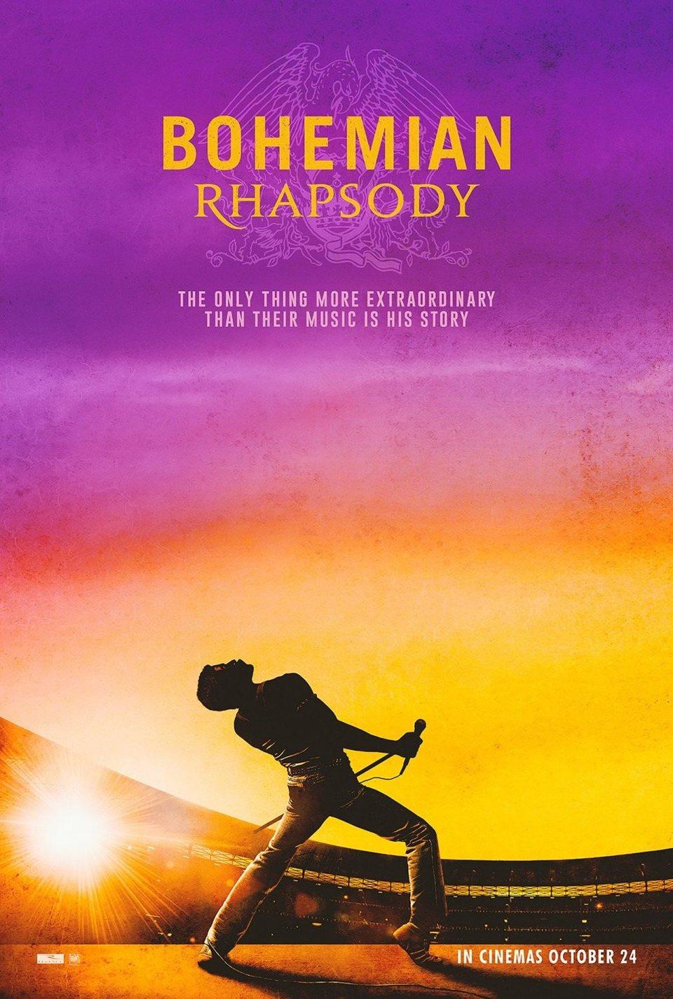 Cartel Póster #2 de 'Bohemian Rhapsody'