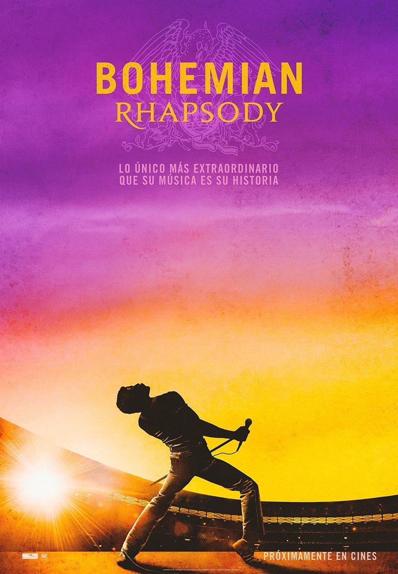 Cartel Póster #2 Español de 'Bohemian Rhapsody'