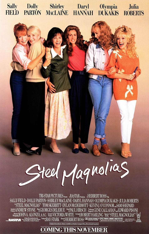 Cartel Estados Unidos de 'Magnolias de acero'