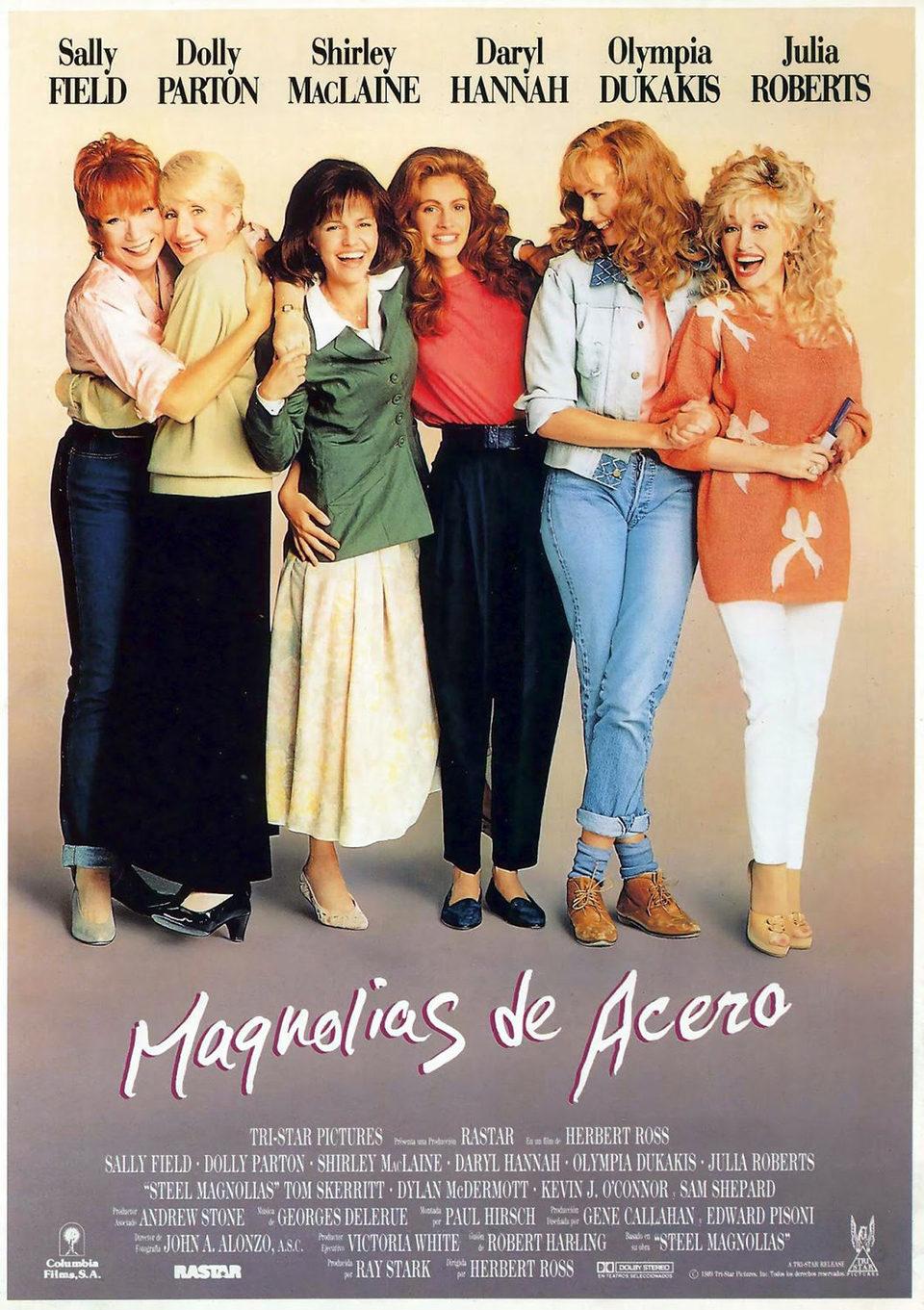 Cartel España de 'Magnolias de acero'