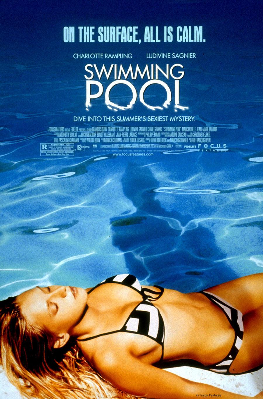 Cartel Estados Unidos de 'Swimming Pool (La piscina)'