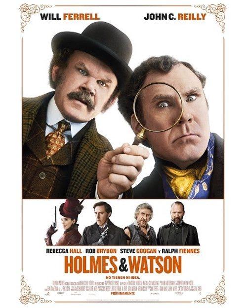 Cartel Cartel España de 'Holmes & Watson'