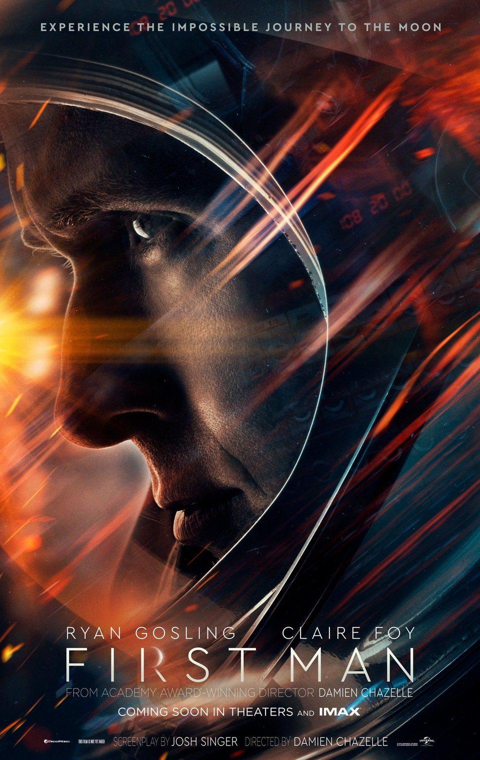 Cartel teaser de 'First Man - El primer hombre'