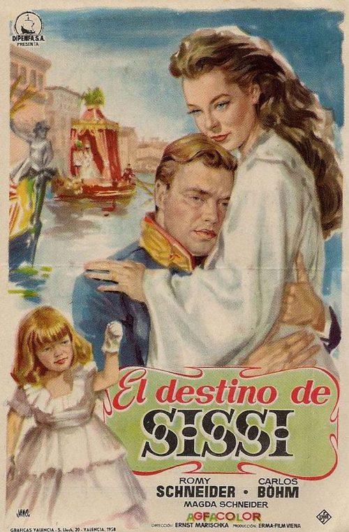 El Destino De Sissi 1957 Película Ecartelera