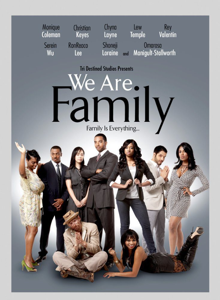 Cartel Estados Unidos de 'We are Family'