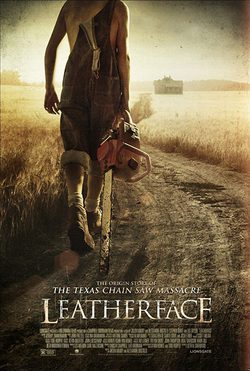 Cartel de Leatherface