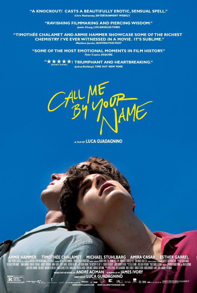 Cartel Póster 'Call Me By Your Name' de 'Call Me By Your Name'