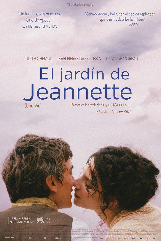 Cartel España de 'El jardín de Jeannette'