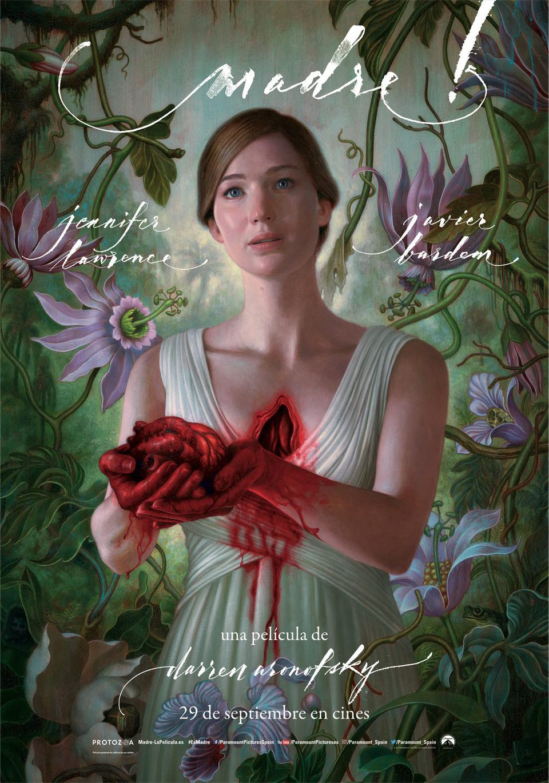 Cartel Madre! Jennifer Lawrence de 'Madre!'