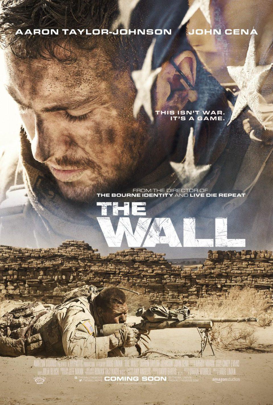 Cartel Póster original de 'The Wall'