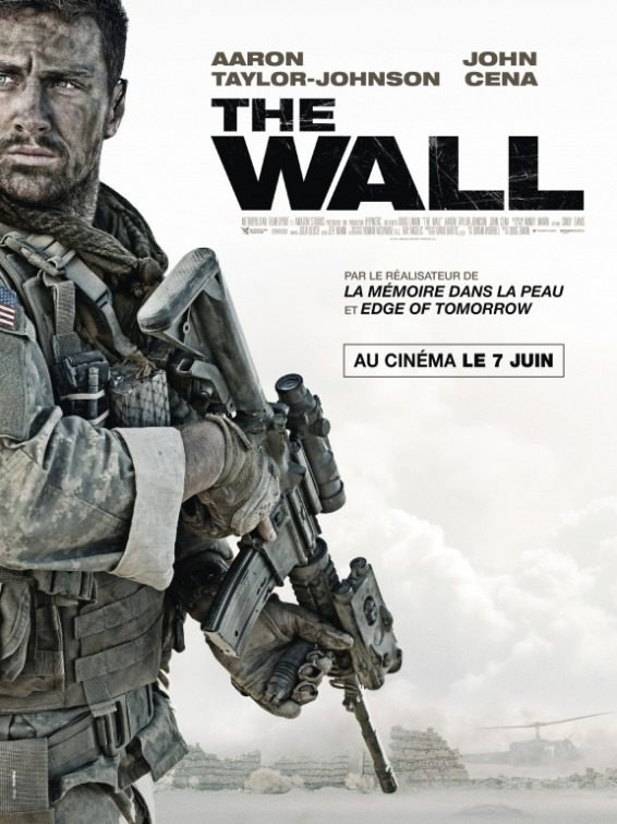 Cartel Póster Francia de 'The Wall'