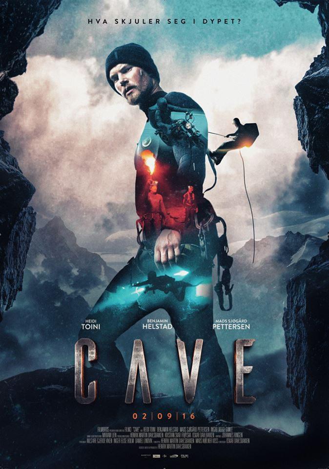 Cartel Noruega de 'La cueva, descenso al infierno'