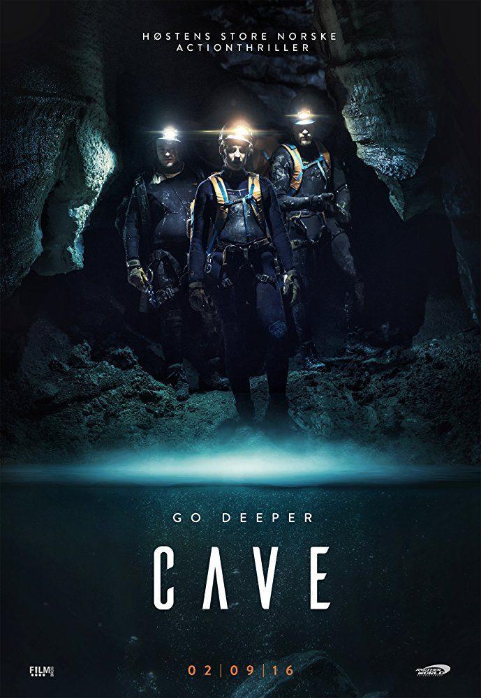 Cartel Noruega #2 de 'La cueva, descenso al infierno'