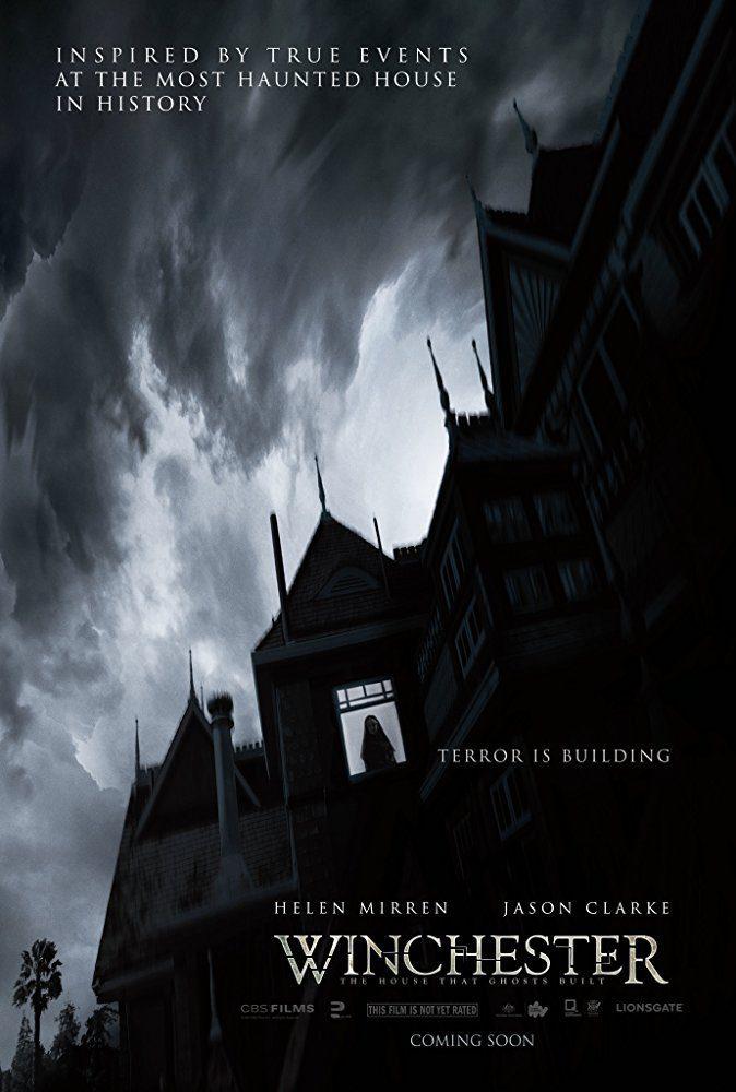 Cartel Teaser poster de 'Winchester: La casa que construyeron los espíritus'