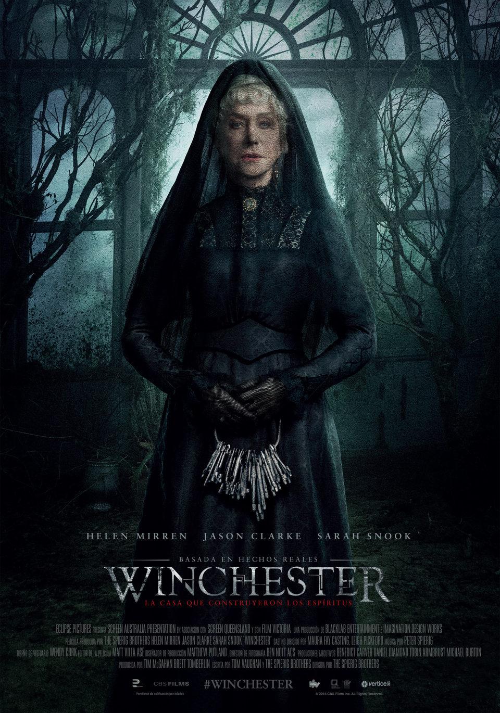 Cartel Poster España de 'Winchester: La casa que construyeron los espíritus'