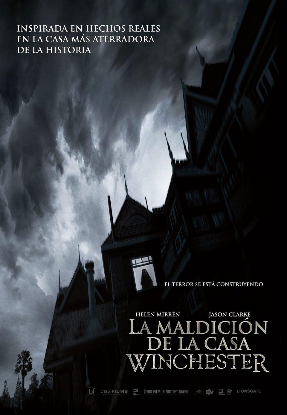 Cartel Teaser poster México de 'Winchester: La casa que construyeron los espíritus'