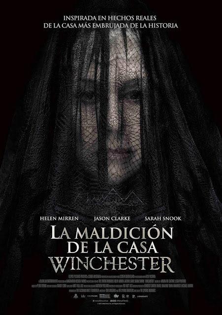 Cartel Poster México de 'Winchester: La casa que construyeron los espíritus'