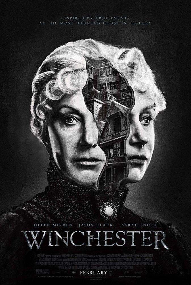 Cartel Poster alternativo de 'Winchester: La casa que construyeron los espíritus'