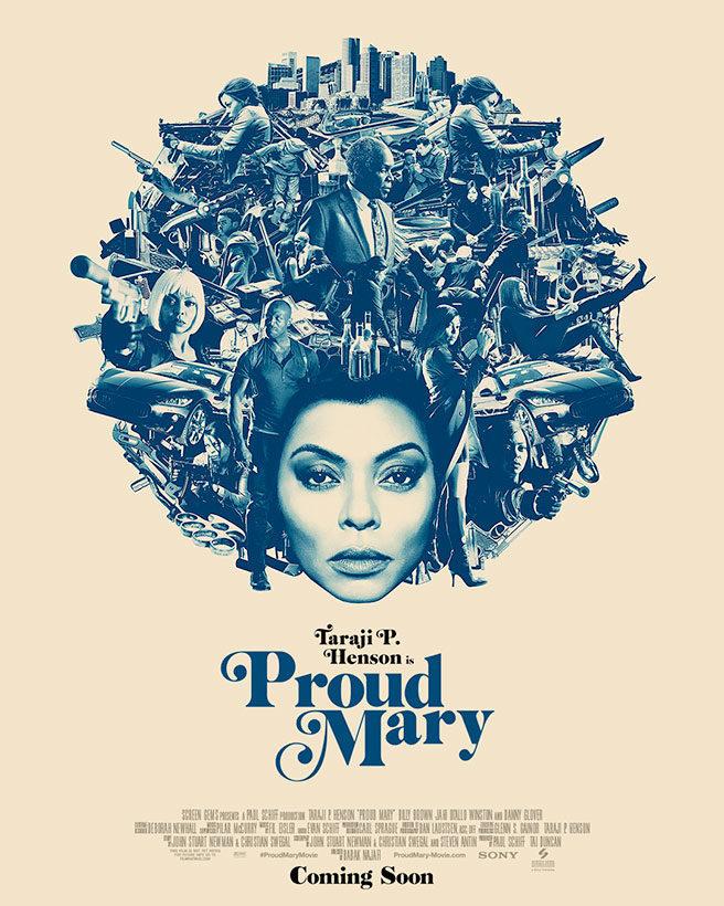 Cartel Proud Mary de 'Proud Mary'
