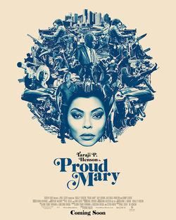 Cartel de Proud Mary