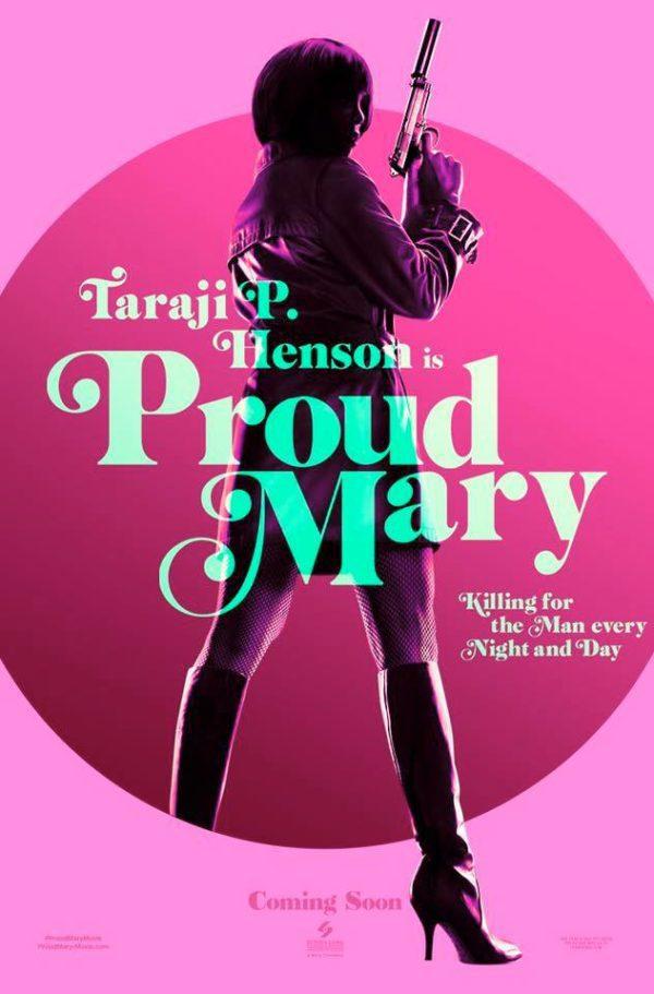 Cartel Teaser poster de 'Proud Mary'