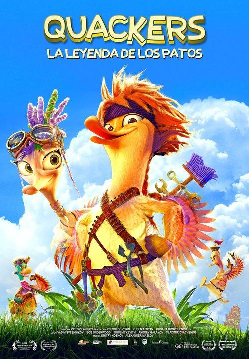 Quackers: La leyenda de los patos (2016)