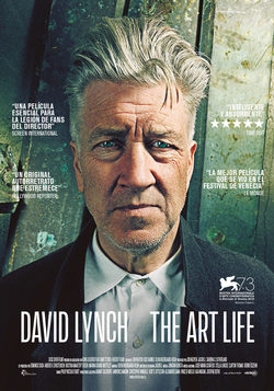 Cartel de David Lynch: The Art Life