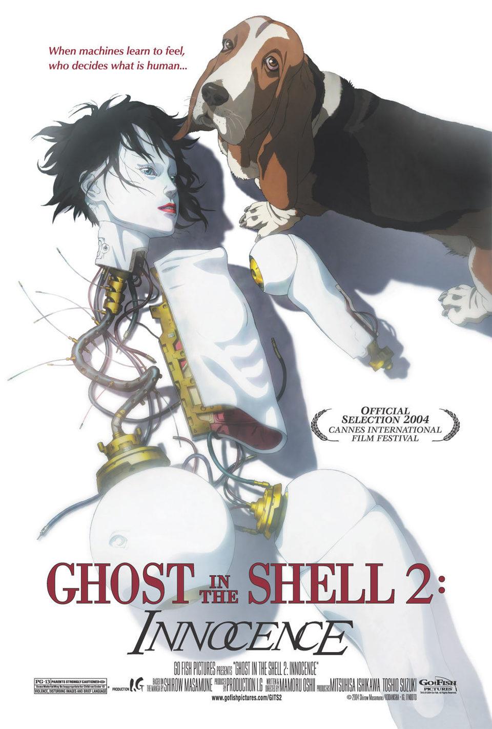 Cartel Estados Unidos de 'Ghost in the Shell 2: Innocence'