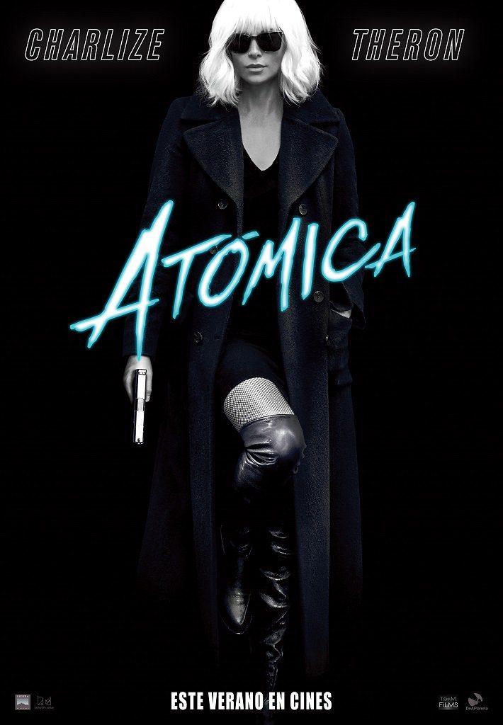Cartel España #1 de 'Atómica'