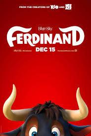 Cartel Primer poster de 'Ferdinand'