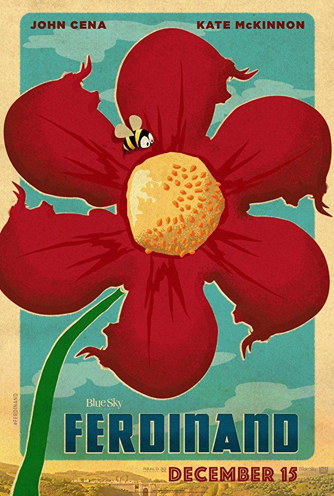 Cartel Cartel promocional #1 de 'Ferdinand'