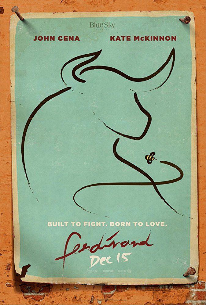 Cartel Cartel promocional #2 de 'Ferdinand'