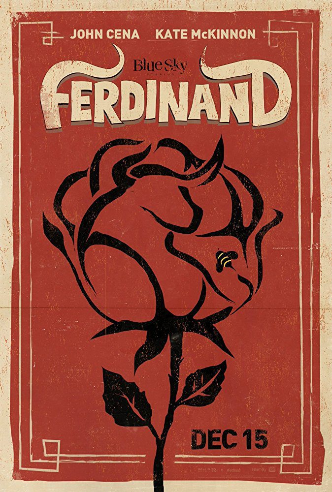Cartel Cartel promocional #3 de 'Ferdinand'