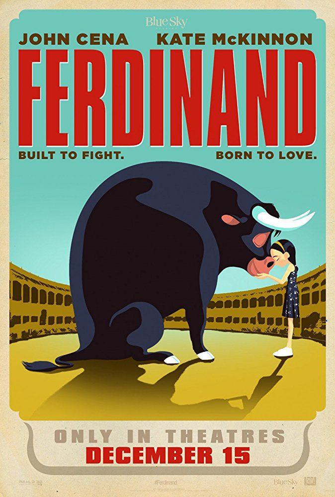 Cartel Cartel promocional #4 de 'Ferdinand'