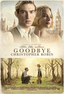 Cartel de Adiós Christopher Robin