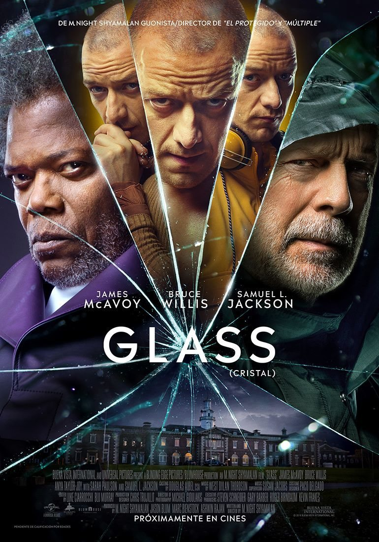 Cartel Español de 'Glass (Cristal)'