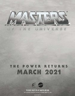 Cartel de Masters of the Universe