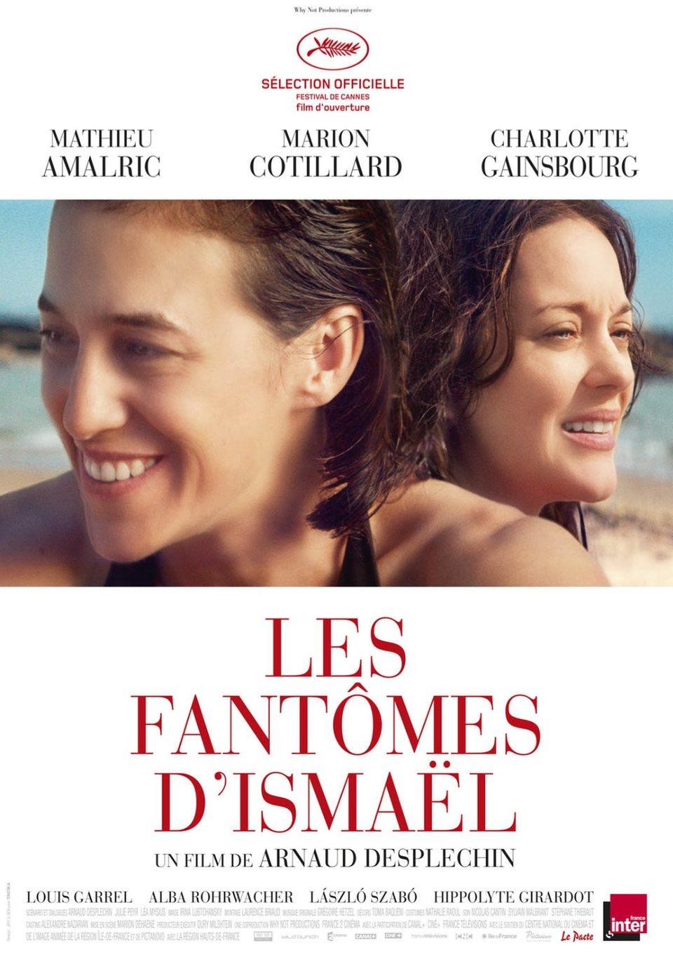 Cartel Francia de 'Los fantasmas de Ismael'