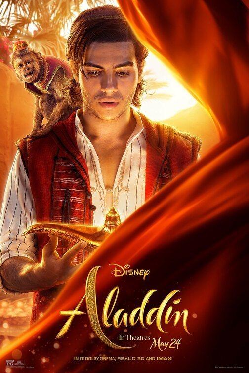 Cartel Aladdin de 'Aladdín'