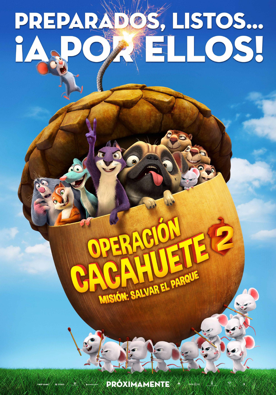Cartel España de 'Operación Cacahuete 2. Misión: Salvar el parque'