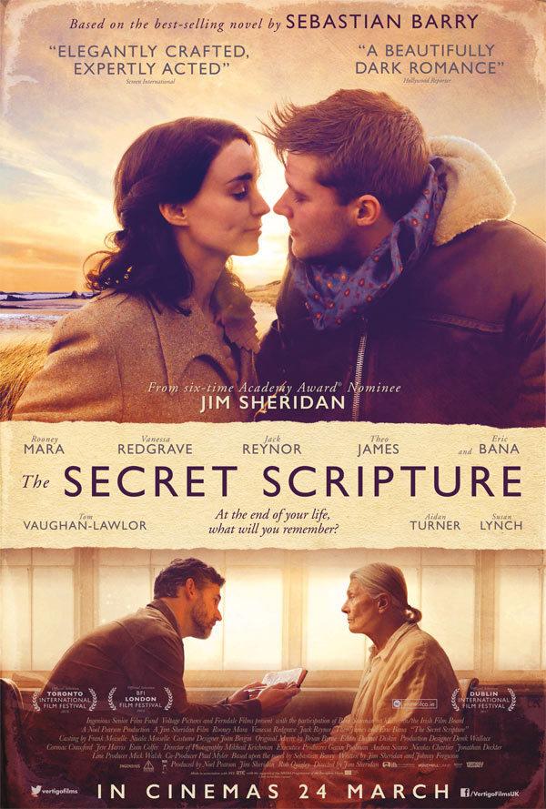 Cartel Poster #1 de 'The Secret Scripture'
