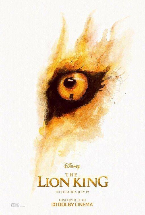 Cartel EEUU #2 de 'El Rey León'