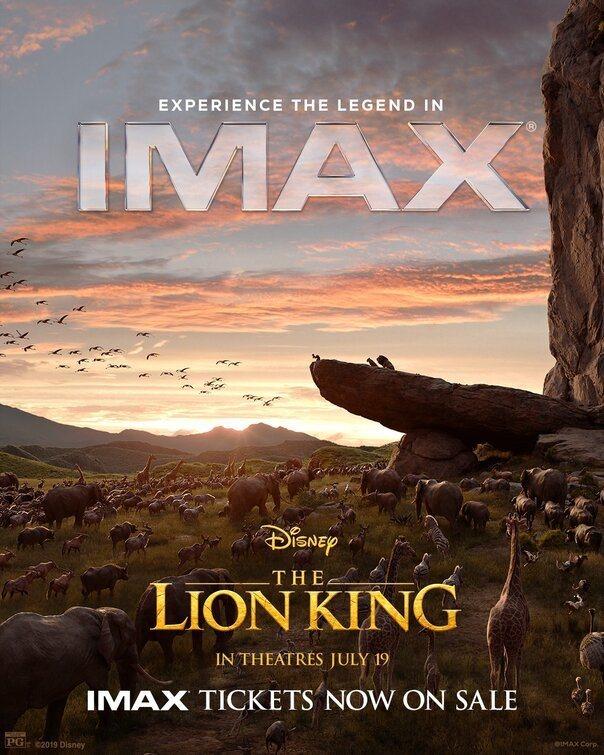Cartel IMAX #2 de 'El Rey León'
