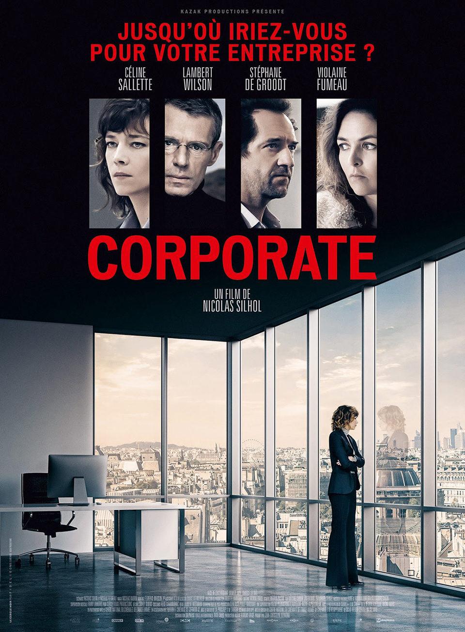 Cartel Francia de 'Corporate'