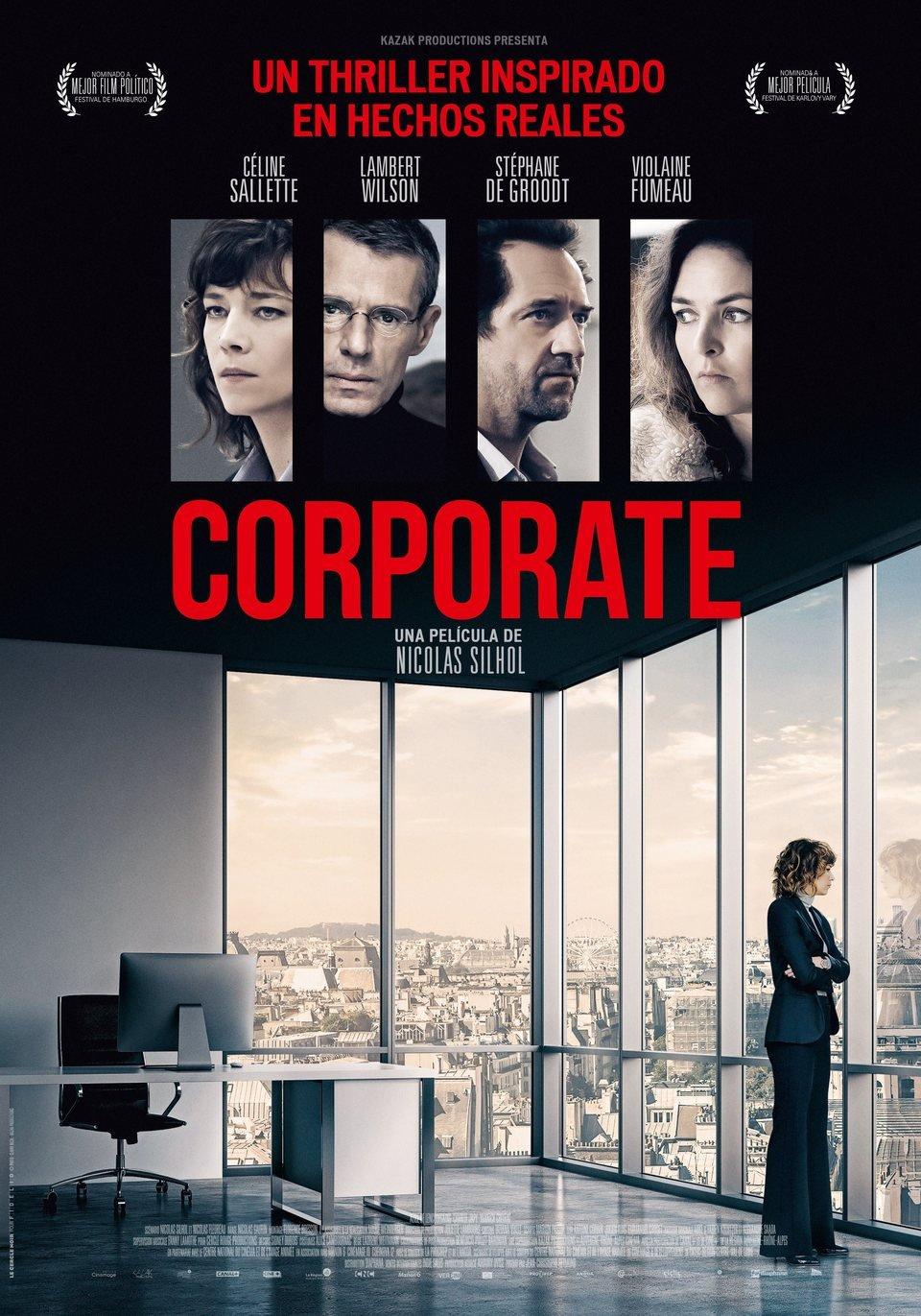 Cartel España de 'Corporate'