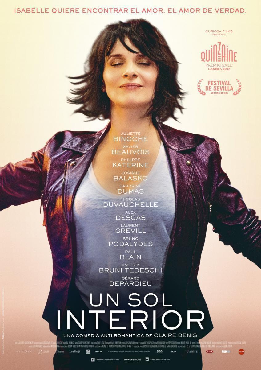 Cartel Español de 'Un sol interior'
