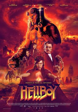 Cartel de Hellboy